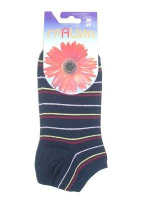 Носки женские М 1013 Грация. Цвет: черный, бордовый, сиреневый, желтый