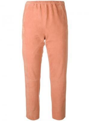 Укороченные брюки Drome. Цвет: розовый и фиолетовый