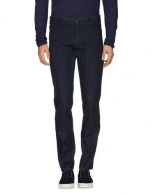 Джинсовые брюки JOHN VARVATOS. Цвет: синий