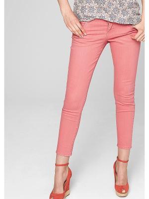 Брюки S.OLIVER. Цвет: розовый