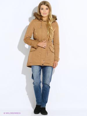 Куртка Motivi. Цвет: коричневый