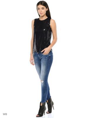 Блузка DKNY. Цвет: темно-синий
