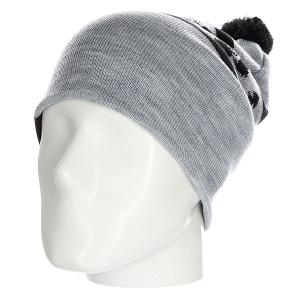 Шапка  ok Grey/Black Les. Цвет: серый,черный