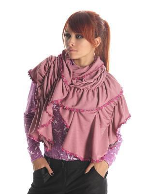 Палантин Artwizard. Цвет: розовый