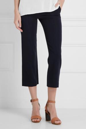 Однотонные брюки Maurizio Pecoraro. Цвет: синий
