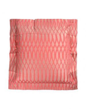 Подушка FRETTE. Цвет: коралловый