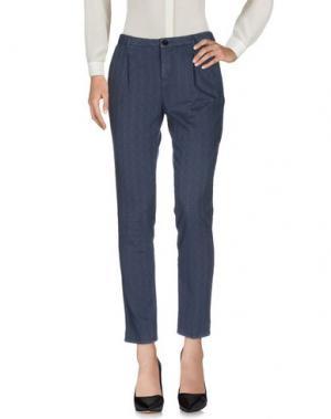 Повседневные брюки GOOD MOOD. Цвет: грифельно-синий