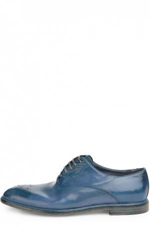 Туфли Marsala Dolce & Gabbana. Цвет: голубой
