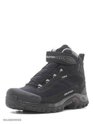 Ботинки SHOES DEEMAX 3 TS WP SALOMON. Цвет: черный