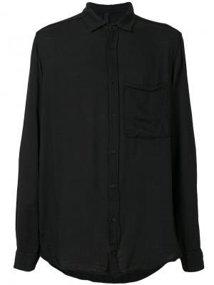 Рубашка свободного кроя Poème Bohémien. Цвет: чёрный