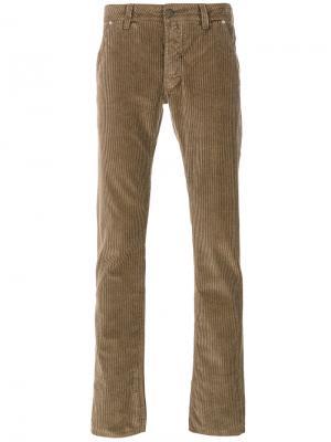 Вельветовые брюки Jacob Cohen. Цвет: none
