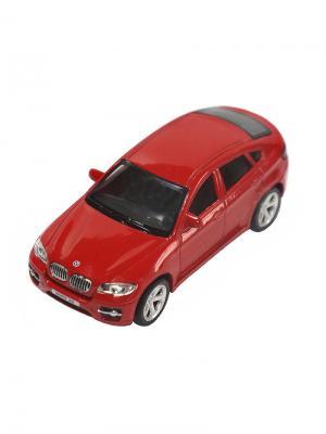 Машинка BMW X6, Красная (1:43) (PS-444002-R) Pit Stop. Цвет: красный
