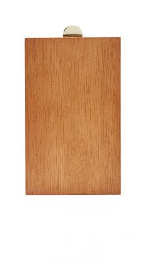 Объемный клатч из древесины Inge Christopher