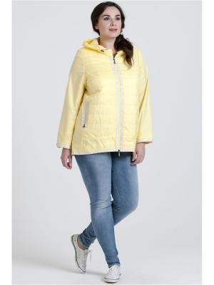 Куртка Modress. Цвет: светло-желтый,желтый
