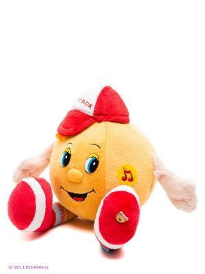 Мягкая игрушка Мульти-пульти. Цвет: горчичный, красный