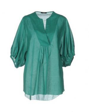 Блузка CARLA G.. Цвет: зеленый