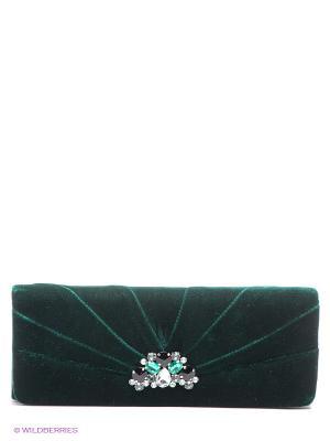 Клатч Eleganzza. Цвет: темно-зеленый