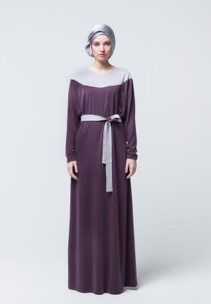 Платье Bella Kareema. Цвет: фиолетовый