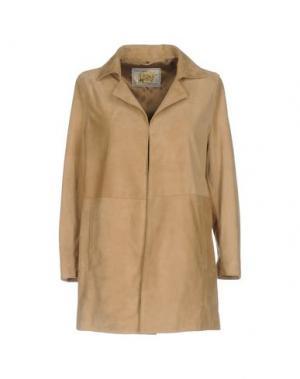 Легкое пальто VINTAGE DE LUXE. Цвет: верблюжий