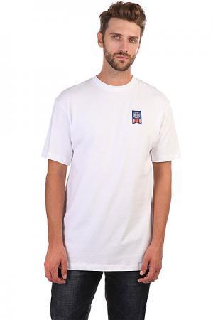 Футболка  Label Cross Regular White Independent. Цвет: белый
