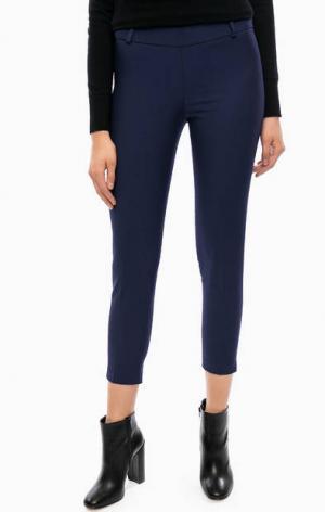 Укороченные брюки на молнии Kocca. Цвет: синий