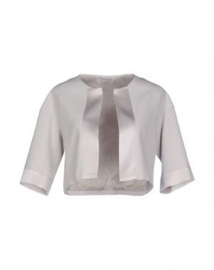 Куртка ANTONELLI. Цвет: светло-серый