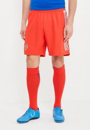 Шорты спортивные adidas. Цвет: красный