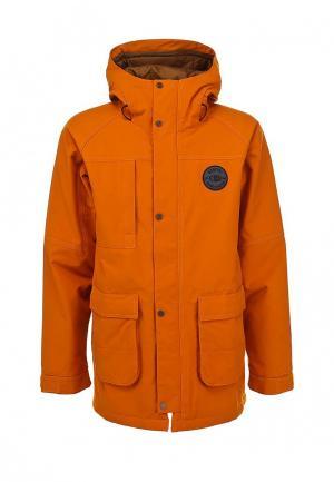 Куртка горнолыжная Bonfire. Цвет: оранжевый