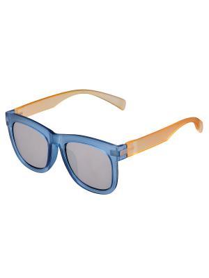 Очки солнцезащитные Модные истории. Цвет: голубой