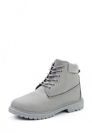 Ботинки Sweet Shoes. Цвет: серый