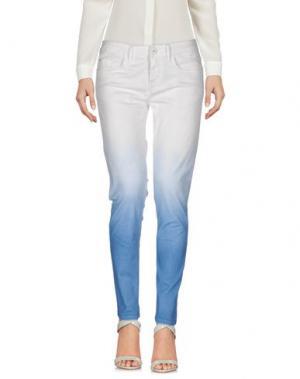 Повседневные брюки NINE:INTHE:MORNING. Цвет: лазурный