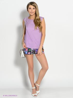 Шорты Baon. Цвет: фиолетовый, бежевый, розовый, синий