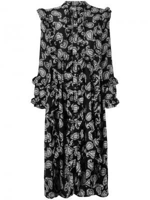 Платье с узором пейсли Dodo Bar Or. Цвет: чёрный