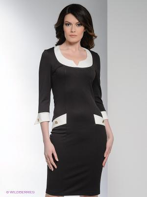Платье Enna Levoni. Цвет: черный, белый
