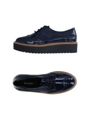 Обувь на шнурках CUPLÉ. Цвет: темно-синий