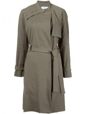 Пальто в стиле милитари A.L.C.. Цвет: зелёный