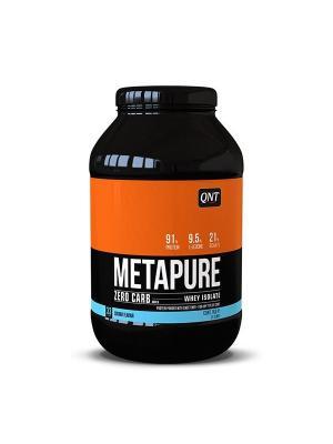 Протеин QNT  Metapure Zero Carb (кокос) 1 кг. Цвет: черный, белый, оранжевый