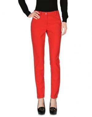 Повседневные брюки LES EPICES. Цвет: красный