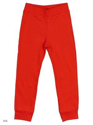 Брюки United Colors of Benetton. Цвет: красный, малиновый