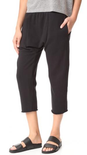 Укороченные спортивные брюки Karate Oak. Цвет: голубой