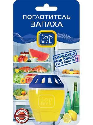 Top housе поглотитель запаха (лимон) HOUSE. Цвет: синий