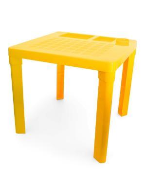 Стол детский (жёлтый) Альтернатива. Цвет: желтый