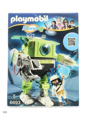 Супер4: Робот Клеано Playmobil. Цвет: зеленый, белый