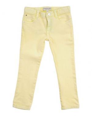Джинсовые брюки TWIN-SET SIMONA BARBIERI. Цвет: желтый
