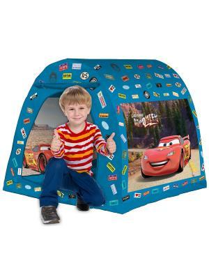Палатка 105*98*90  см Тачки FRESH-TREND. Цвет: синий
