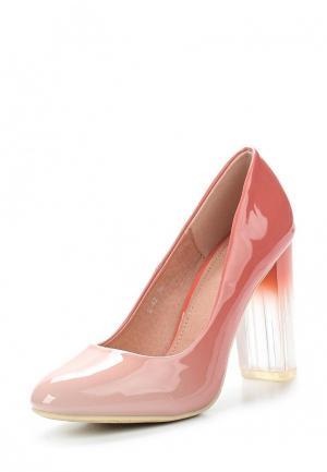 Туфли Style Shoes. Цвет: розовый