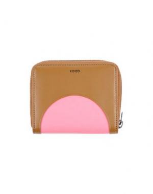 Бумажник KENZO. Цвет: хаки