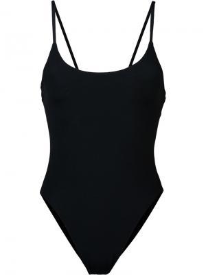 Слитный купальник Delano Alix. Цвет: чёрный
