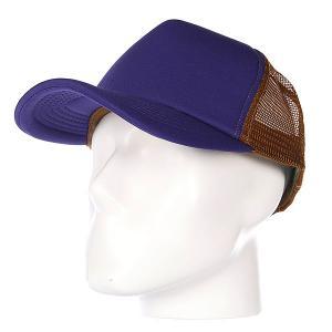 Бейсболка с сеткой True Spin Combo Trucker Purple/Beige TrueSpin. Цвет: коричневый,фиолетовый