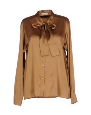 Pубашка BRUNO MANETTI. Цвет: верблюжий